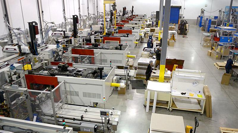 Canada Plastics manufacturing plant
