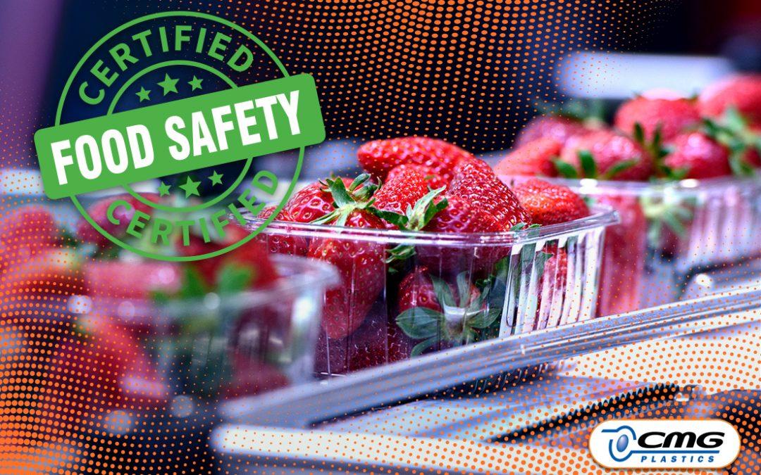 CMG Plastics is Certified Food Safe