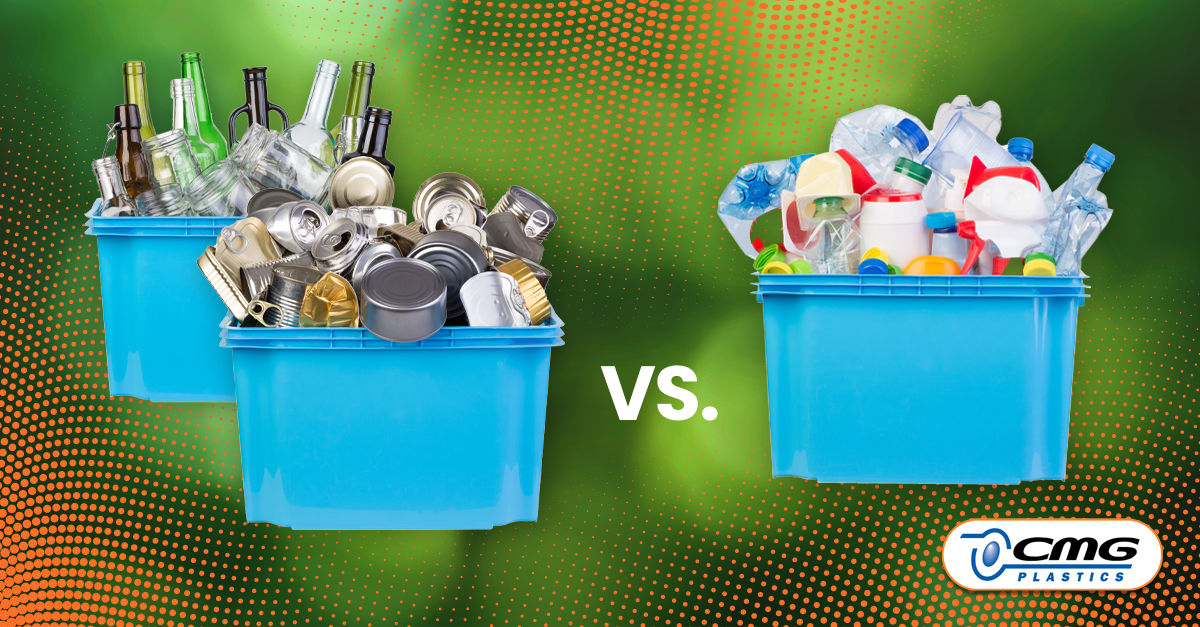 Sustainability Advantages of Plastic Packaging vs. Glass or Aluminum