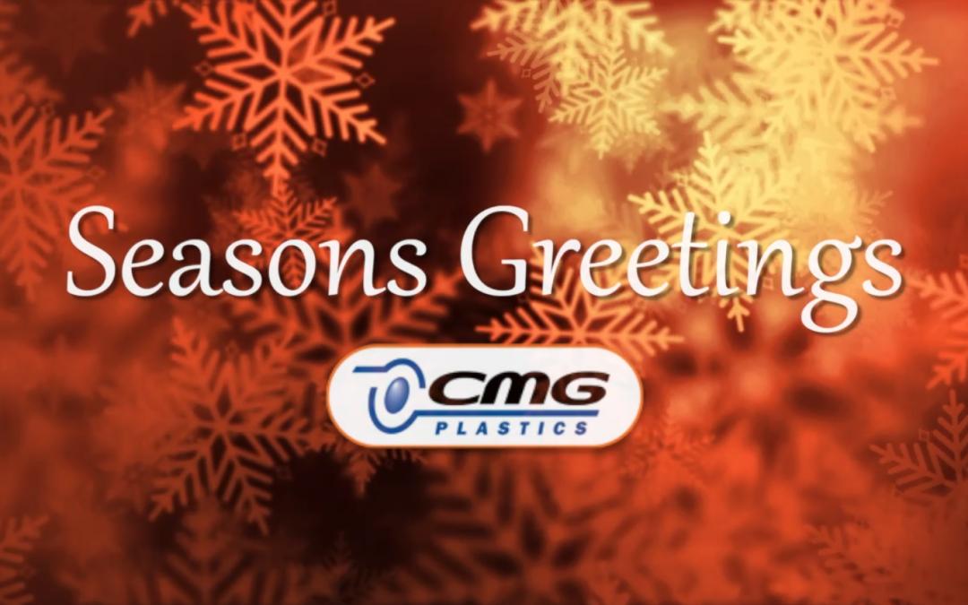 Happy Holidays from CMG Plastics