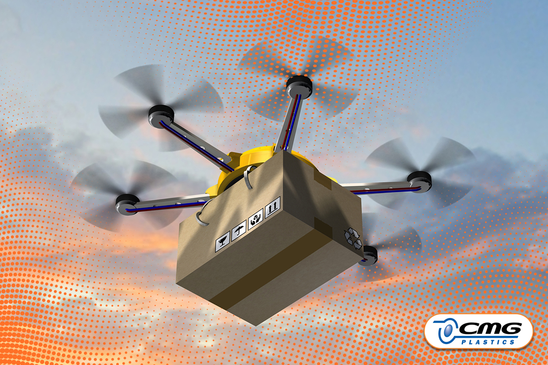 Drone Ready Packaging by CMG Plastics